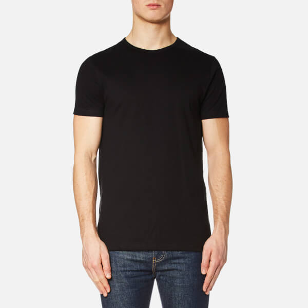 Edwin Men's Double Pack Short Sleeve T-Shirt - Black