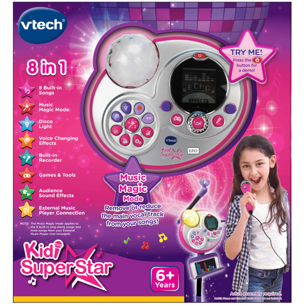 Vtech Kidi Superstar Microphone Set: Image 2