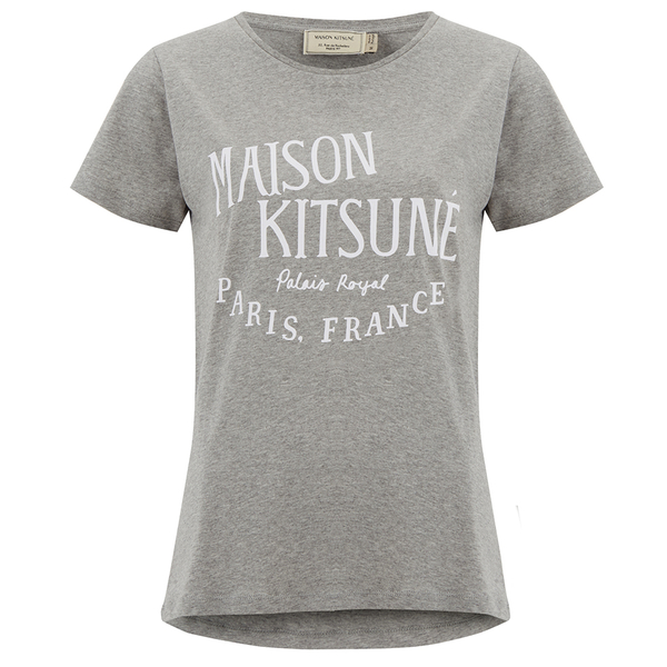 Maison Kitsuné Women's Palais Royal T-Shirt - Grey Melange