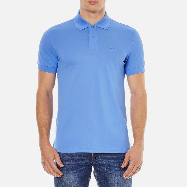BOSS Green Men's C-Firenze Polo Shirt - Light Blue