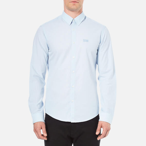 BOSS Green Men's C-Buster Long Sleeved Shirt - Sky