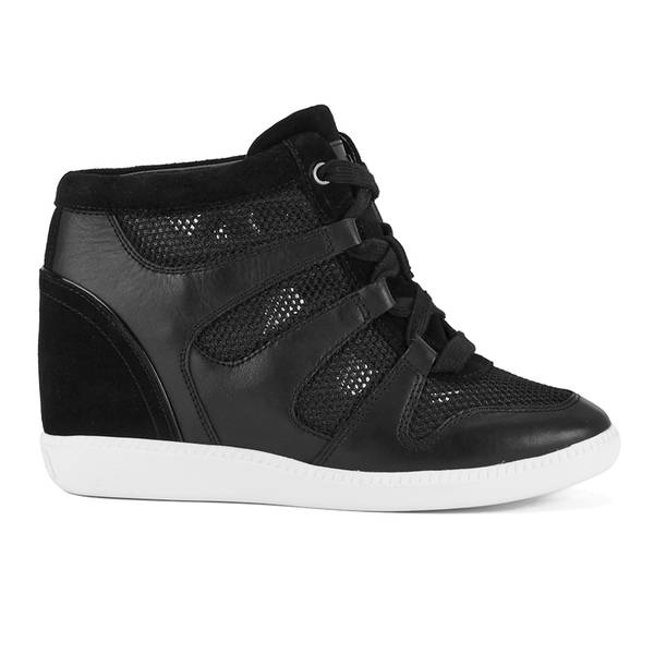 MICHAEL MICHAEL KORS Women's Astrid High Top Trainers - Black
