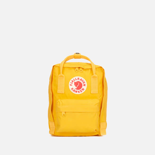 348de7fcb938 Fjallraven Kanken Mini Backpack - Warm Yellow  Image 1