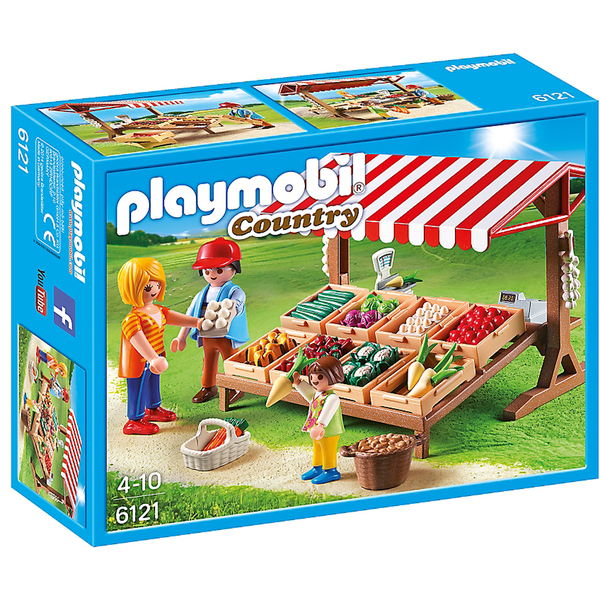 PLAYMOBIL Country: Mercado (6121)
