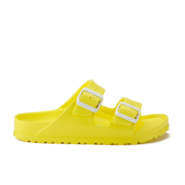 Birkenstock Women's Arizona Slim Fit Double Strap Sandals - Neon Yellow