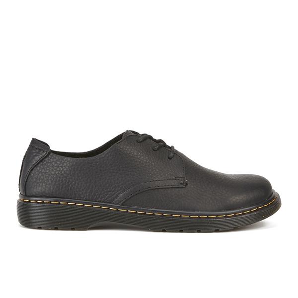 Dr. Martens Mens Dante Black Leather Shoes 44 EU 11hiX3Fs8