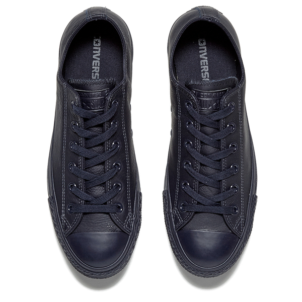 Converse Men's Chuck Taylor All Star Mono Craft Leather Ox Trainers - Inked: Image 2