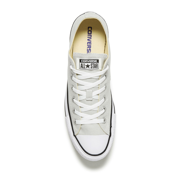 58dd25f668c7 Converse Men s Chuck Taylor All Star Ox Trainers - Mouse White Black  Image