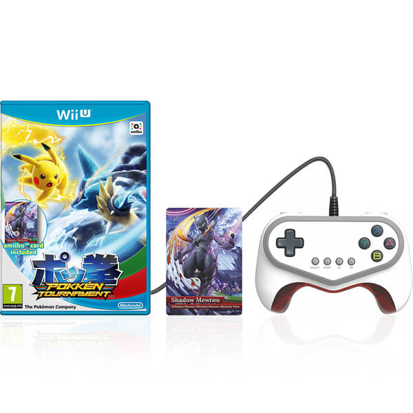 Pokkén Tournament + Shadow Mewtwo amiibo Card + Pro Pad Controller