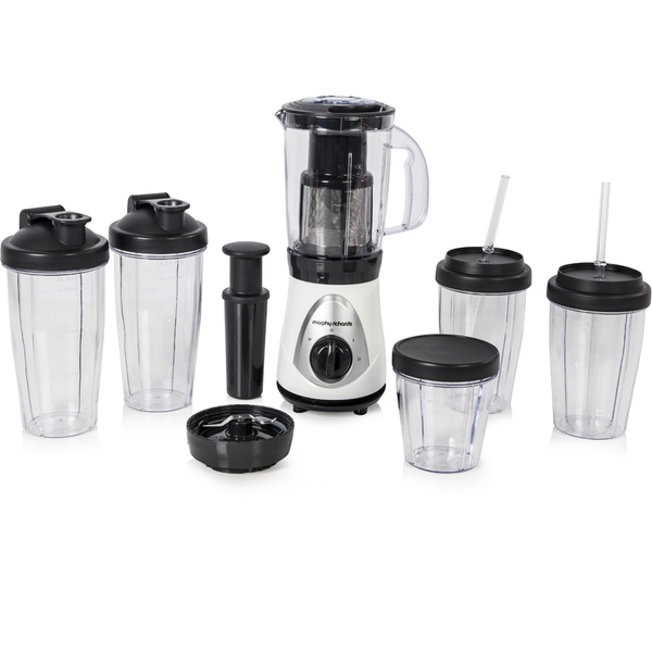 Morphy Richards 403021 Easy Blend Blender Deluxe - White | IWOOT
