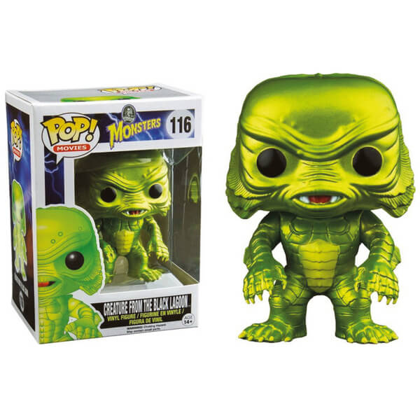 Universal Monsters Creature from the Black Lagoon Metallic Pop! Vinyl Bobble Head