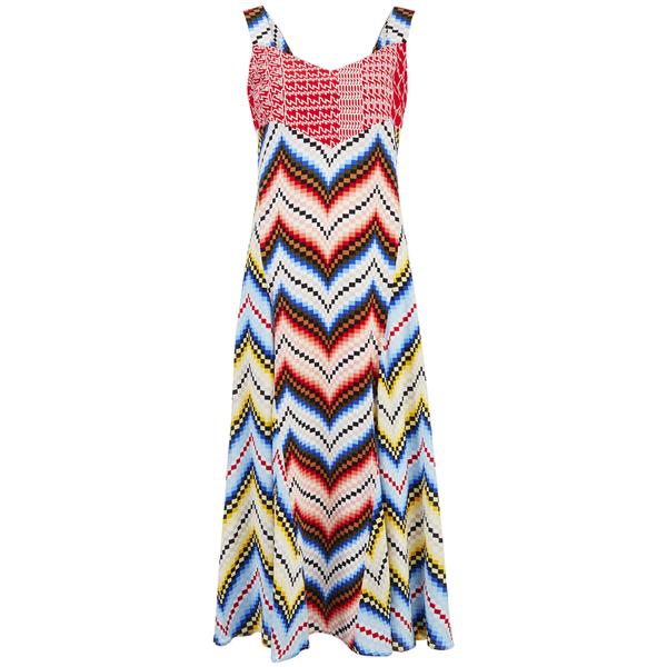 KENZO Women's Multi Print Dress - Multi