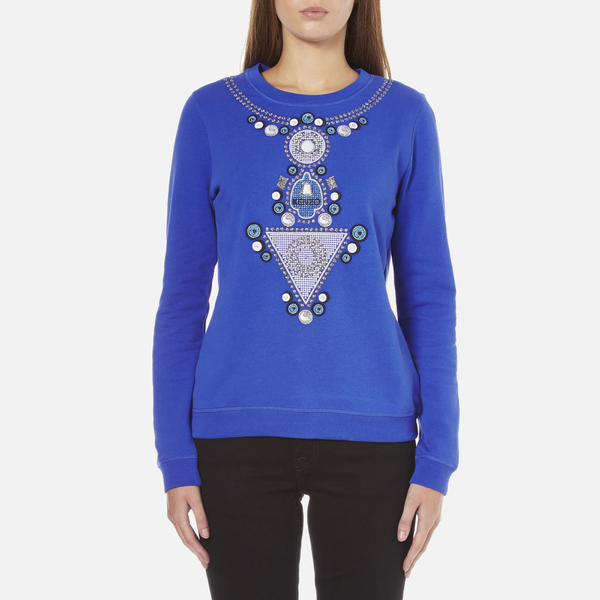 KENZO Women's Logo Sweatshirt - Blue