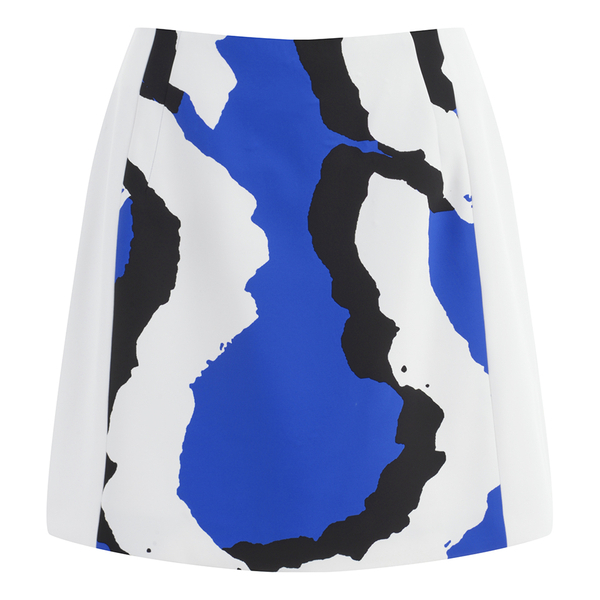 KENZO Women's Printed Skirt - Blue