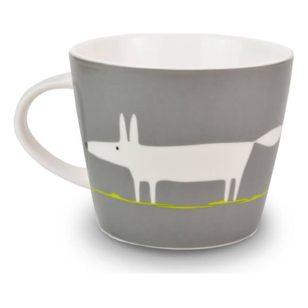 Scion Mr Fox Mug - Charcoal/Lime