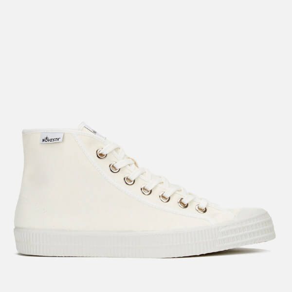 Novesta Star Dribble Hi-Top Trainers - White