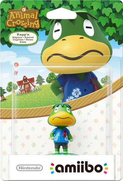 Amiibo Amiral Animal Crossing