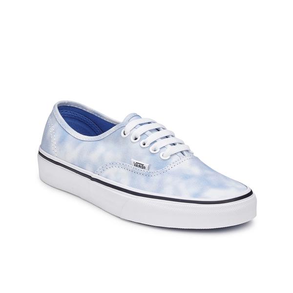 82852a48471471 Vans Women s Authentic Tie Dye Trainers - Palace Blue  Image 4
