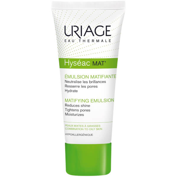 Uriage Hyséac Moisturising and Mattifying Pore Refiner Emulsion (40 ml)
