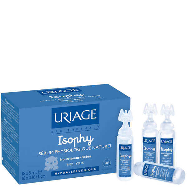Uriage Natural Decongestant Spray for Eyes and Nose (8 x 5 ml)