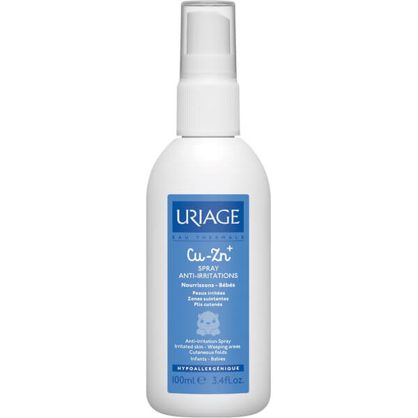 Spray anti-irritant Cu-Zn+ d' Uriage (100ml)