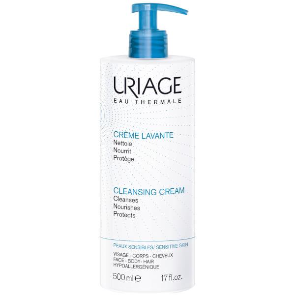 Uriage Crème Lavante Soap Free Cleansing Cream 500ml