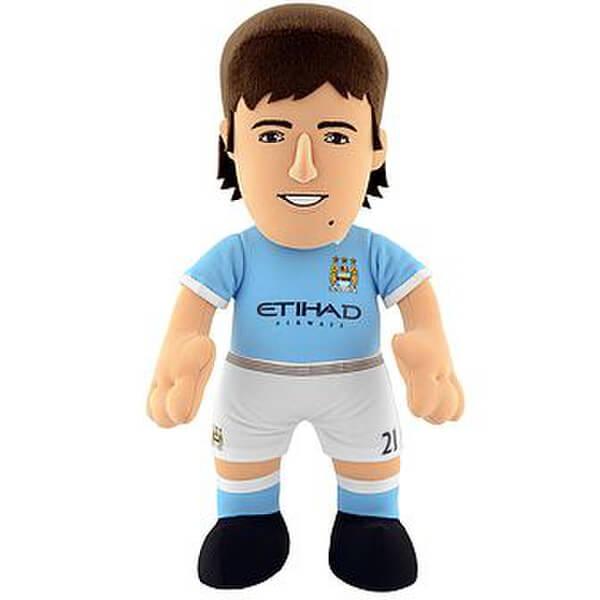 Figurine Bleacher David Silva Manchester City FC