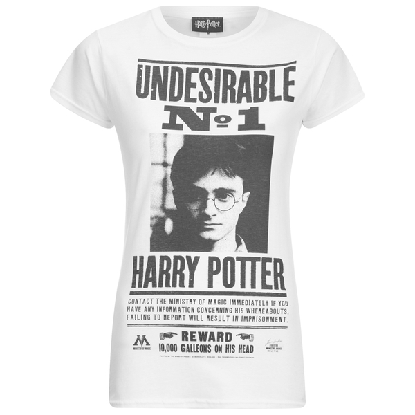 Harry Potter Women's Undesireable T-Shirt - White