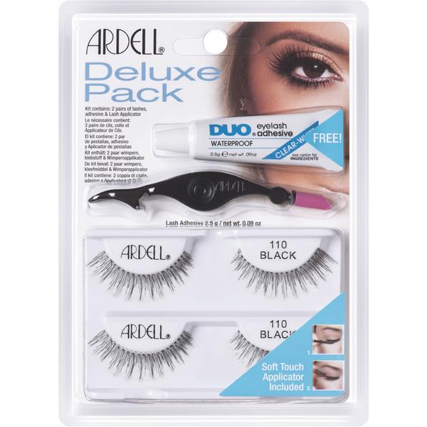 Ardell Deluxe LashesPack 110, Schwarz