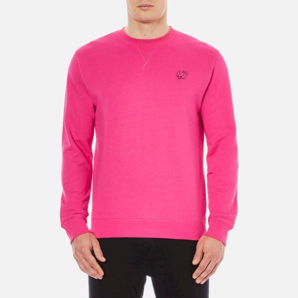 McQ Alexander McQueen Men's Coverlock Crew Sweatshirt - Iconic Pink