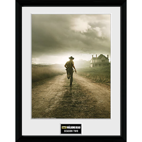 The Walking Dead Season 2 - 16 x 12 Inches Framed Photographic