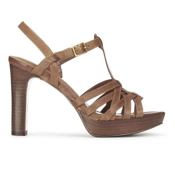 Lauren Ralph Lauren Women's Shania Heeled Sandals - Polo Tan