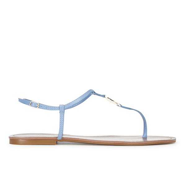 9bd887b5d6e7 Lauren Ralph Lauren Women s Aimon Leather Sandals - Polo Tan  Image 1