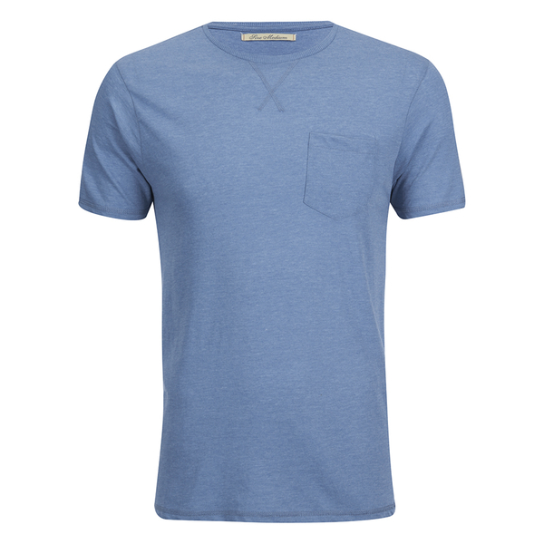 T-Shirt Homme Brave Soul Arkham -Bleu Clair