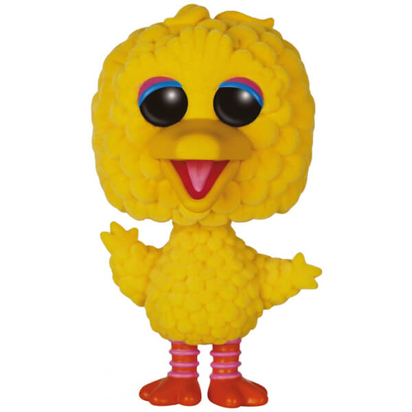 Sesame Street Big Bird Oversized Flocked Pop! Vinyl