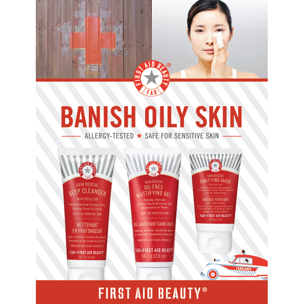 First Aid Beauty Banish Oil Kit
