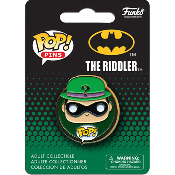 DC Comics Batman Riddler Pop! Pin