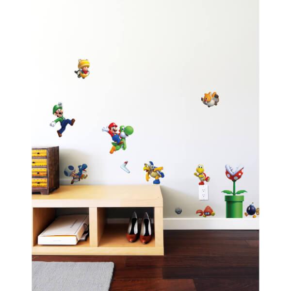 New Super Mario Bros. U Wall Stickers (Small): Image 2 Part 84