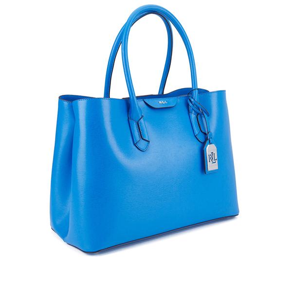 bac58d826d ... blue white dryden hand 2c599 c8bae  shopping lauren ralph lauren womens  city tote bag cyan image 2 cf863 7b12b