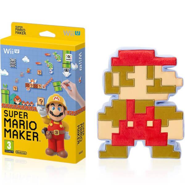 Squishy Super Mario Maker : Super Mario Maker + 8-Bit Mario Soft Toy Nintendo Official UK Store