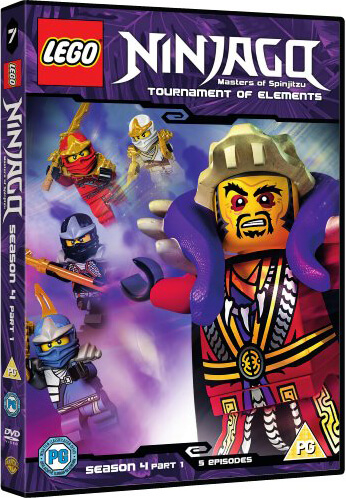 Lego Ninjago - Series 4: Volume 1 DVD   Zavvi