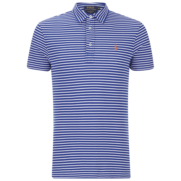5ccd2c65 Polo Ralph Lauren Men's Custom Fit Polo Shirt - Pacific Royal - Free ...