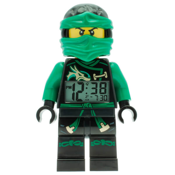 LEGO Ninjago Sky Pirates Lloyd Mini Figure Alarm Clock