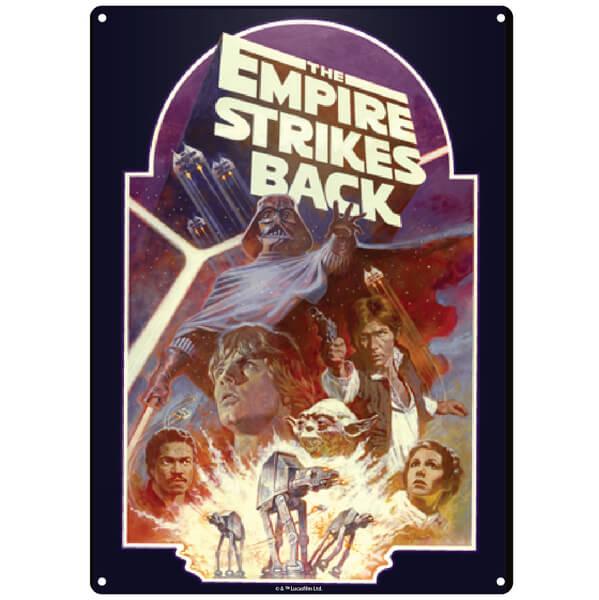 Star Wars Empire Strikes Back Small Tin Sign