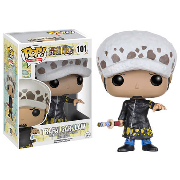 figurine pop vinyl trafalgar law one piece merchandise. Black Bedroom Furniture Sets. Home Design Ideas