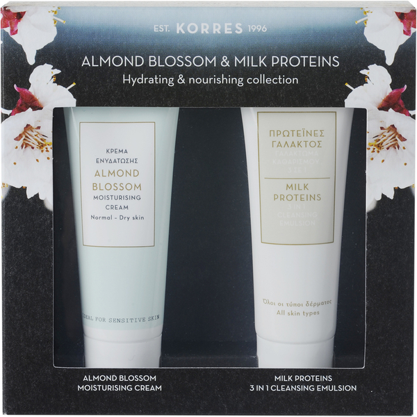 Korres Almond Blossom Moisturising Mini Collection 2 x 16ml
