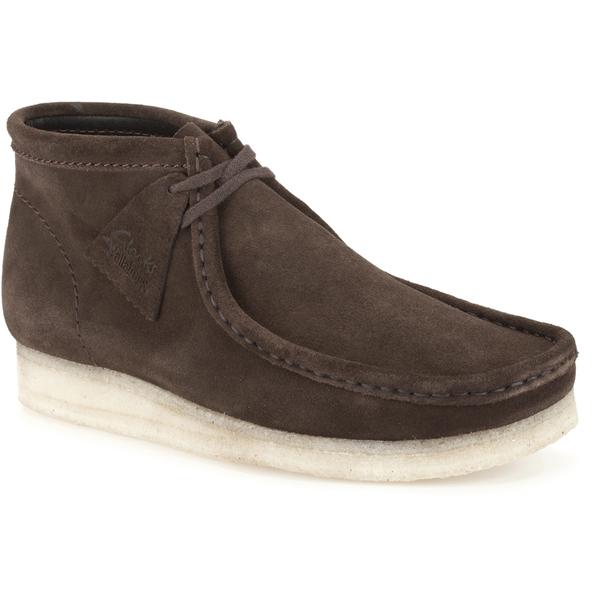 409e9c9d7 Clarks Originals Men s Wallabee Boots - Brown Suede  Image 2