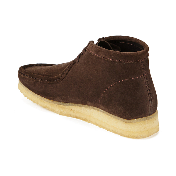 clarks originals s wallabee boots brown suede free