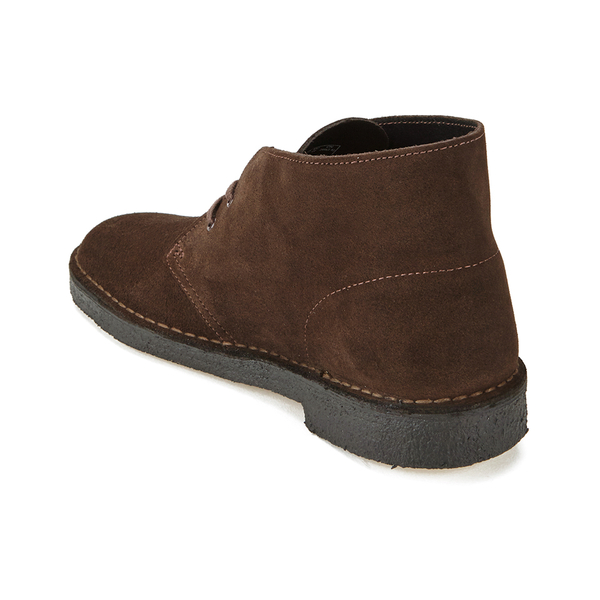 clarks originals s desert boots brown suede mens