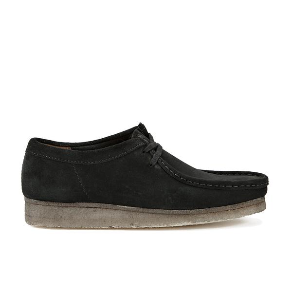 Clarks Originals Men's Wallabee Shoes - Black Suede
